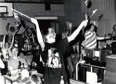 1992 - EM-jubel (Foto: Kaj Grunert)