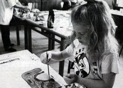 1990 - Silkemaling