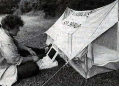 1991 - Flensborg Avis' udsatte medarbejder (Foto: Martina Petersen)