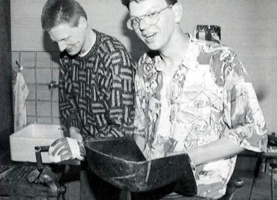 1997 - Svejsekursus (Foto: Jens Peder Meyer)
