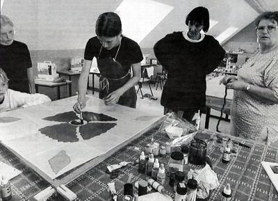 1997 - Pensel og papir (Foto: Jens Peder Meyer)