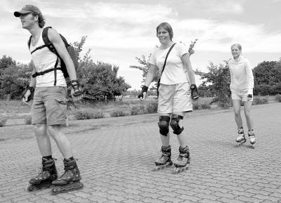 2005 - Hjul under fødderne (Foto:Lars Salomonsen)