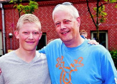 2012 - Mathias & Arne (Foto: Lars Salomonsen)